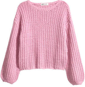 H&M Chunky-knit jumper - Pink