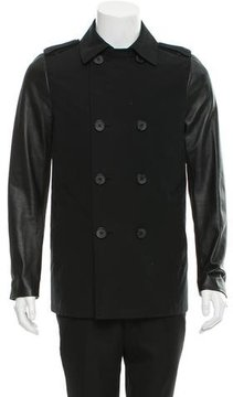 Mackage Double-Breasted Trench Coat