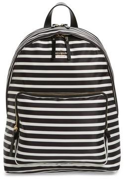 Kate Spade Tech Nylon Backpack - Black - BLACK - STYLE