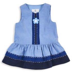 Florence Eiseman Toddler's & Little Girl's Sleeveless Cotton Knit Dress