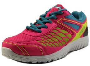 Fila Lightning Strike Youth Round Toe Synthetic Pink Sneakers.