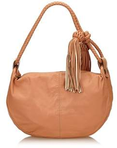 Mulberry Pre-owned: Leather Tassel Shoulder Bag.