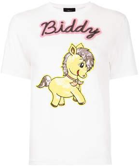 G.V.G.V. Sequin applique T-shirt