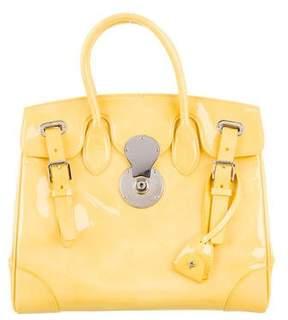 Ralph Lauren Soft Patent Leather Ricky Bag