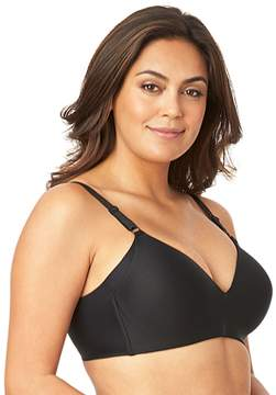 Olga Plus Size Bra: No Side Effects Wire-Free Full-Figure Contour Bra GM3561A