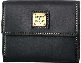 Dooney & Bourke Emerson Small Flap Credit Card Wallet Wallet Handbags