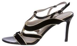 Jason Wu Velvet Cage Sandals