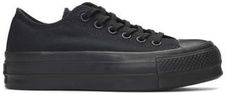 Converse Black Chuck Taylor All Star Lift Clean Sneakers