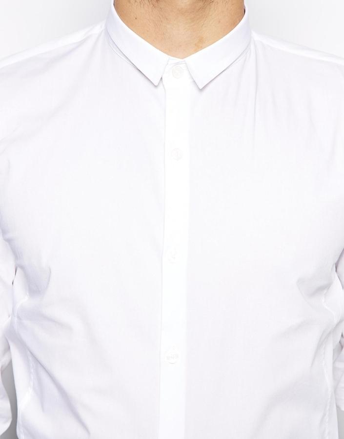 Vito Shirt With Small Collar