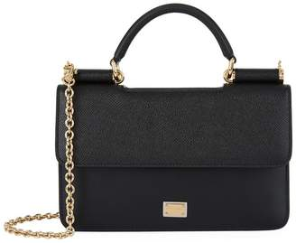 9833365c677d Dolce   Gabbana Black Leather Crossbody Bags For Women - ShopStyle ...