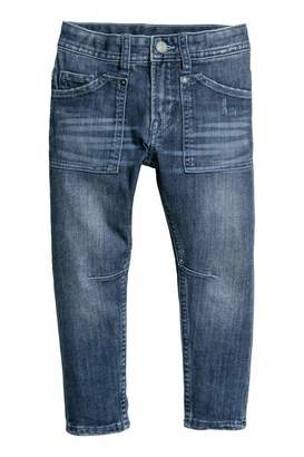 H&M Relaxed Tapered Fit Jeans - Denim blue - Kids