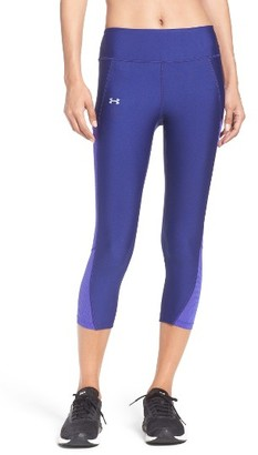 Women's Under Armour Fly By Heatgear Capris $54.99 thestylecure.com