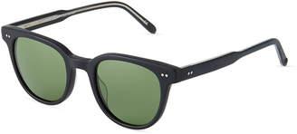 Garrett Leight Angelus 47 Round Acetate Sunglasses