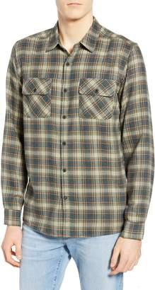 Hurley Walker Plaid Flannel Shirt
