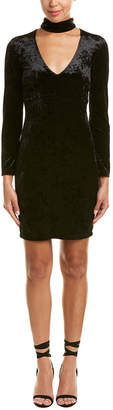 Bardot Kira Velvet Sheath Dress