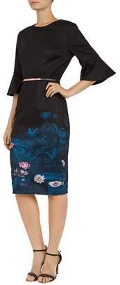 Ted Baker Azania Wonderland Bell-Sleeve Dress