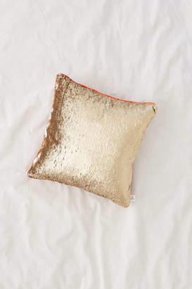 Mermaid Reversible Sequin Throw Pillow