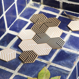 Areaware Stone Table Tile Coasters
