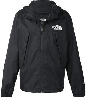 The North Face lightweight hooded rain jacket