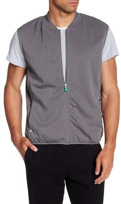 Save The Duck Mixed Media Leisure Vest