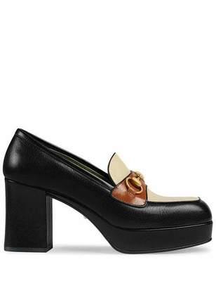 Gucci Houdan Bicolor Platform Heels