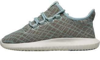 da3685968c9599 adidas Womens Tubular Shadow Trainers Tactile Green Tactile Green Chalk  White