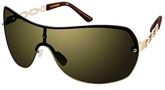 Southpole Women's 441sp-Gldbr Shield Sunglasses