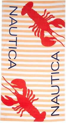 Nautica Lobster Sherbert Beach Towel - 35x66