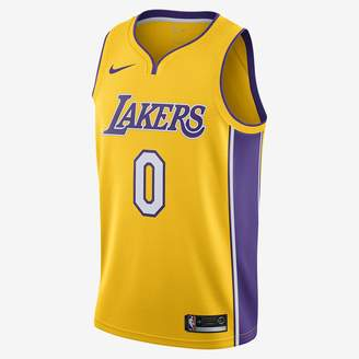 Nike Brandon Ingram Icon Edition Swingman Jersey (Los Angeles Lakers) Men's NBA Connected Jersey