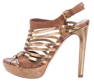 e0325dbd6ad3 Pre-Owned at TheRealReal · Miu Miu Caged Leather Sandals