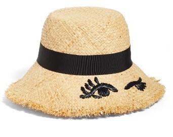 Kate SpadeWomen's Kate Spade New York Winking Bucket Hat - Beige