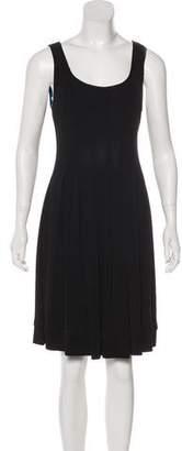 Emilio Pucci Pleated Knee-Length Dress