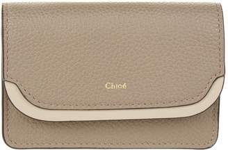 Chloé Leather Card Holder