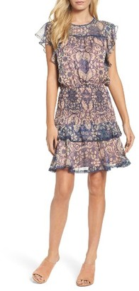 Women's Chelsea28 Tiered Blouson Dress $139 thestylecure.com