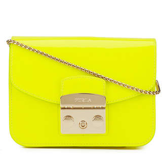 Furla Women's Metropolis Mini Crossbody Bag - Lime