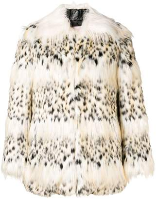 Giamba faux fur jacket