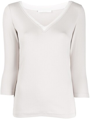 Fabiana Filippi three-quarter sleeve sweater
