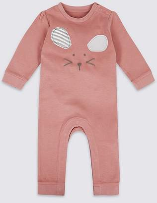 Marks and Spencer Mouse Face Pure Cotton All in One
