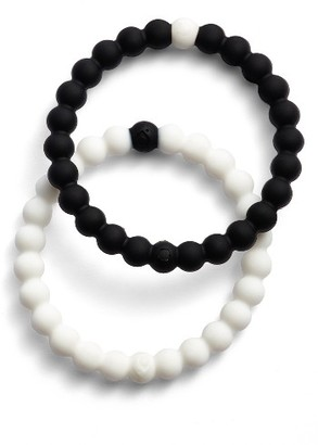Women's Lokai Choose Your Cause Set Of 2 Black & White Bracelets $36 thestylecure.com