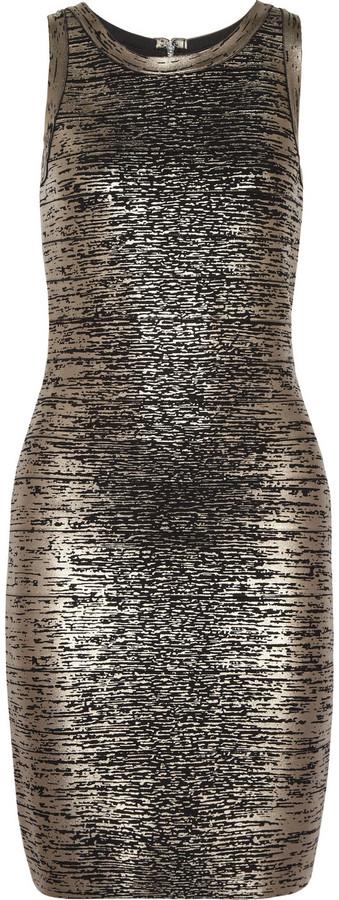 MICHAEL Michael Kors Coated-bandage dress