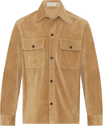 R.M. Williams Suede Shirt Jacket