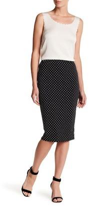 Philosophy Apparel Midi Dot Skirt $48 thestylecure.com