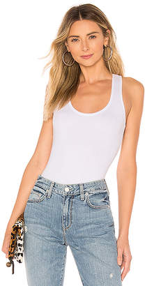 About Us Kira Scoop Tank Bodysuit