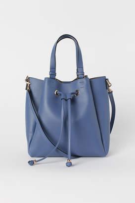 H&M Large Bucket Bag - Blue