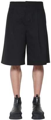 Jil Sander Steven Cotton Gabardine Shorts