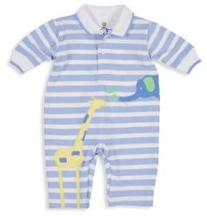 Florence Eiseman Baby Boy's Striped Polo Coverall