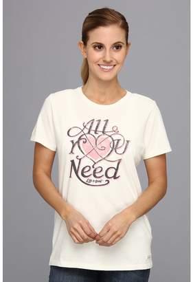 Life is Good All You Need Crushertm Tee Women's T Shirt