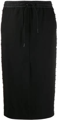 P.A.R.O.S.H. studded track skirt