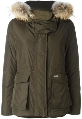 Woolrich 'W's Short Military' parka coat $746.85 thestylecure.com