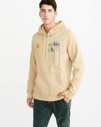 Abercrombie & Fitch Rainbow Logo Hoodie